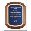 Coventry Series Solid American Walnut Plaque